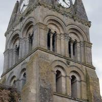 Le clocher vu du nord-ouest (2019)