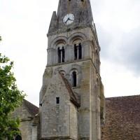 Le clocher vu du nord (2019)