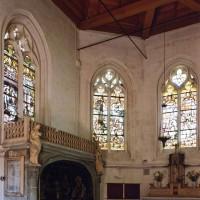 L'intérieur de la chapelle vu vers le nord-est (2004)