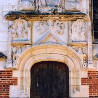 Portail nord de la chapelle (2004)