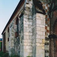 Vue partielle de la nef depuis le nord-ouest (2004)