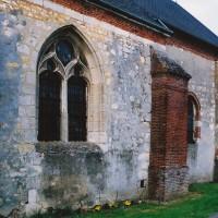 Vue partielle de la nef et du choeur depuis le sud-ouest (2003)