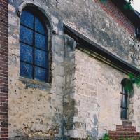 Vue partielle du choeur depuis le nord-est (2004)