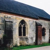 Vue de la nef et du choeur depuis le sud-ouest (2003)