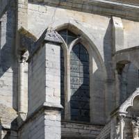 Arcs-boutants du mur sud de la nef (2017)