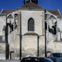 Le chevet de l'église (2017)
