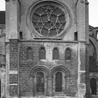 La façade sud du transept
