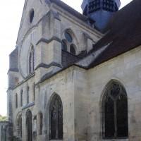 Vue partielle de l'église depuis le nord-ouest (2017)