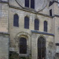 La façade du bras nord du transept vue du nord-est (2017)