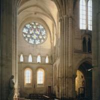 Le bras sud vu du transept vers le sud (1996)