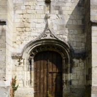 Le portail du mur sud de la nef (2016)