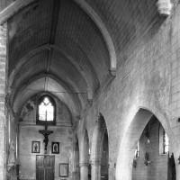 La nef vue vers le nord-ouest (2000)