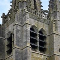 L'étage du beffroi du clocher vu du sud-ouest (2016)