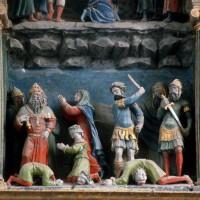 Le retable, scène 5 : supplice des trois derniers enfants, Alexandre, Vital et Martial (1995)