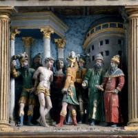 Le retable, scène 2 : supplice de Januarius, le premier des enfants de Félicité à être torturé (1995)