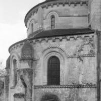 L'abside du 12ème siècle vue du nord (1996)