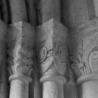 Chapiteaux du couloir circulaire (étape 3 de la reconstruction de l'église) (1996)