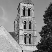 Le clocher sud vu du sud