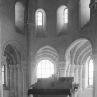 Vue partielle de l'abside vers le nord-est (1996)
