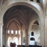 Vue partielle du transept et du choeur vers le sud-est (1995)