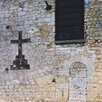 Vue partielle du mur sud de la nef (2003)