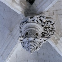 Clef de voûte de la chapelle renaissance (2006)