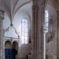 La chapelle renaissance vue vers le nord-est depuis le choeur (2006)