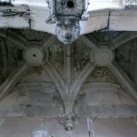 La voûte de l'enfeu de la chapelle renaissance (2006)