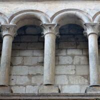 Triforium du bras nord du transept (2008)