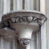 Cul-de-lampe dans la chapelle de Charles d'Hangest (2007)