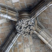 Clef de voûte de la chapelle du Saint-Sépulcre (2007)