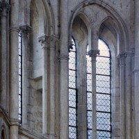 Fenêtre du troisième étage du bras nord du transept (2008)