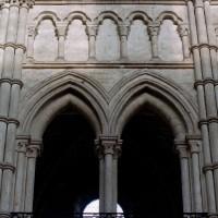 Elévation des parties hautes du mur nord du choeur (2006)