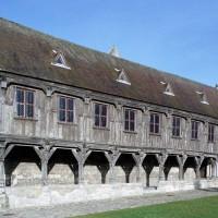 La bibliothèque du chapitre vue depuis le sud-ouest (2008)