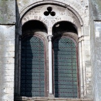 Fenêtre du dernier étage du bras sud du transept (2008)
