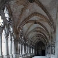 La galerie ouest du cloître vue vers le sud (2008)