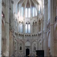 Le bras nord du transept vu vers le nord (2006)