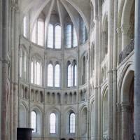 Le bras sud du transept vu vers le sud-ouest (2008)