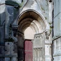 Le portail est du bras sud du transept (2008)