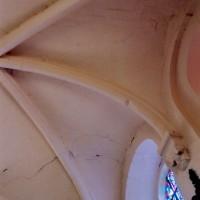 Vue partielle de la voûte du choeur vers le nord-est (2005)