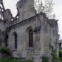 Chapelles du bras nord du transept vue du nord-est (2006)