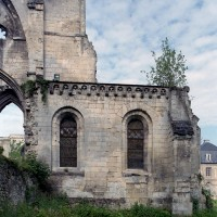Chapelles du bras nord du transept vues de l'est (2006)