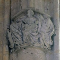 Chapiteau de l'abside (2019)