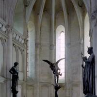 L'abside vue vers le nord-est (2008)