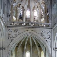 L'étage supérieur vu vers l'est (2008)