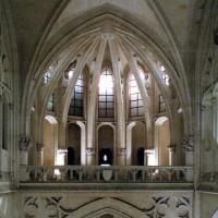 L'abside supérieure vue vers l'est (2008)