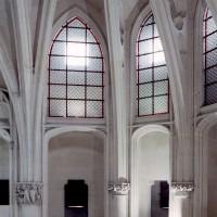 Vue partielle de l'abside supérieure vers le nord (2008)