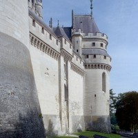 Le flanc sud-est du château et la tour Judas Maccabée (2008)
