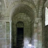 Vue partielle de la crypte vers le nord-ouest (2007)