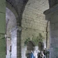 Vue partielle de la crypte vers le nord-est (2007)